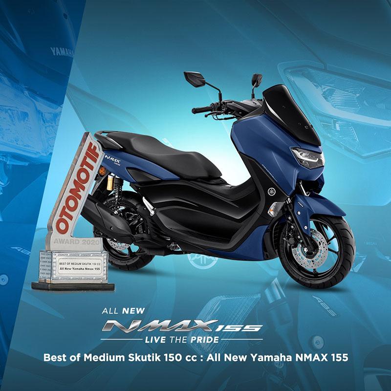 Wow, Motor Yamaha Menang Banyak di Ajang Penghargaan Otomotif Award 2020