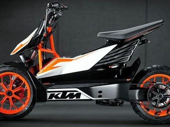 KTM Bikin Motor Skuter Unik, Siap Dipasarkan Segera