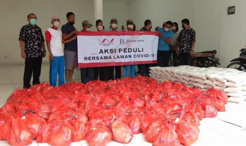 Wahana Artha Group Berikan Bantuan Untuk Warga Kurang Mampu Terdampak Corona di jakarta Dan Tangerang