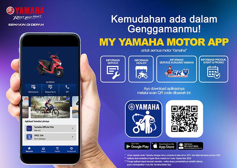 Ini Manfaat Aplikasi My Yamaha Yang Baru Diluncurkan