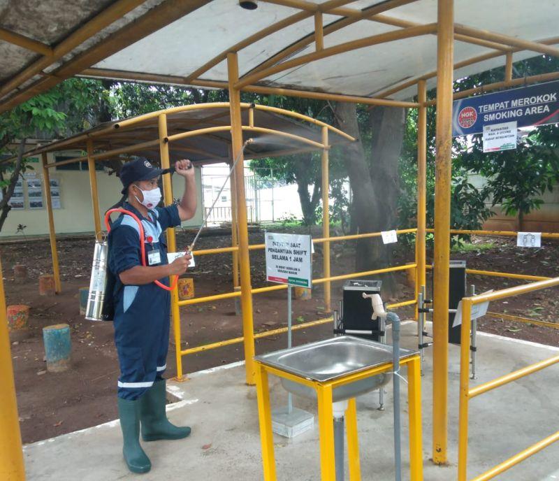 Cara NGK Busi Indonesia Perangi Virus Corona