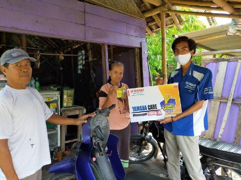 Yamaha Jawa Tengah Ramai-Ramai Bantu Masyarakat