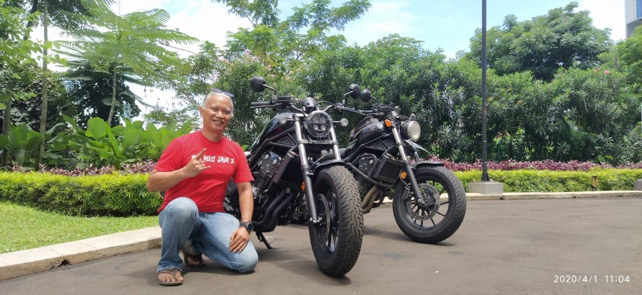 Pemilik Pertama All New Honda Rebel Jakarta, Gunakan Layanan Online