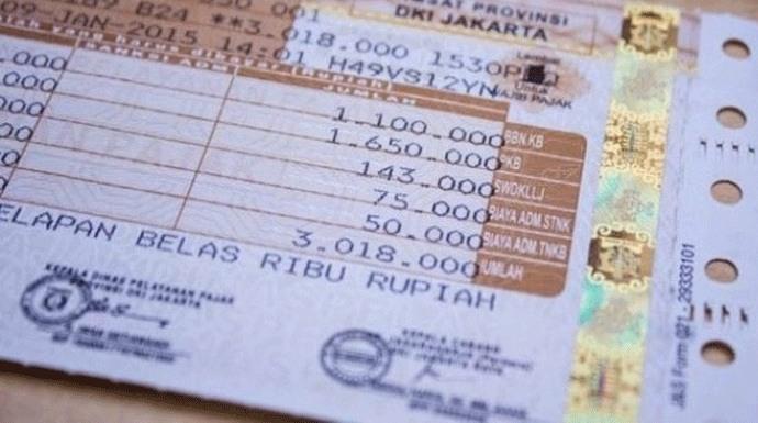 Asyik.. Telat Bayar Pajak Kendaraan Tidak Dikenankan Denda