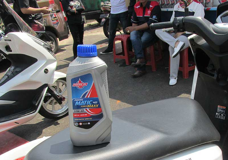 Zat Aditif Pada Oli Sepeda Motor Pengaruhi Kinerja Mesin