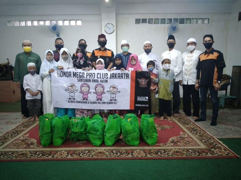 Gak Cuma Santuni Anak Yatim, HMPC Jakarta Juga Peduli Anggotanya Terdampak Covid-19