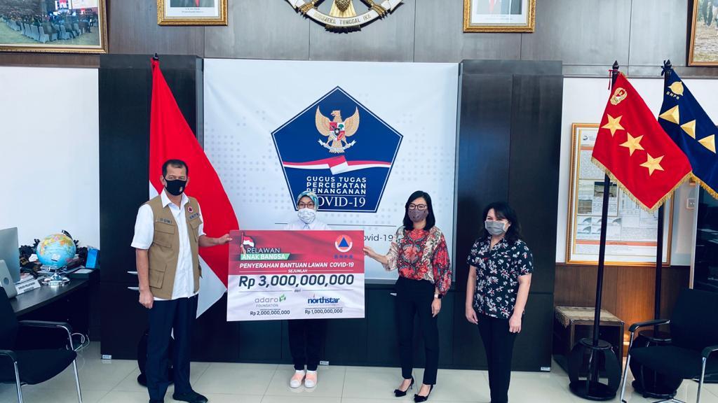 Bantu Penangana Covid-19 Relawan Anak Bangsa Donasikan Rp3 Miliar