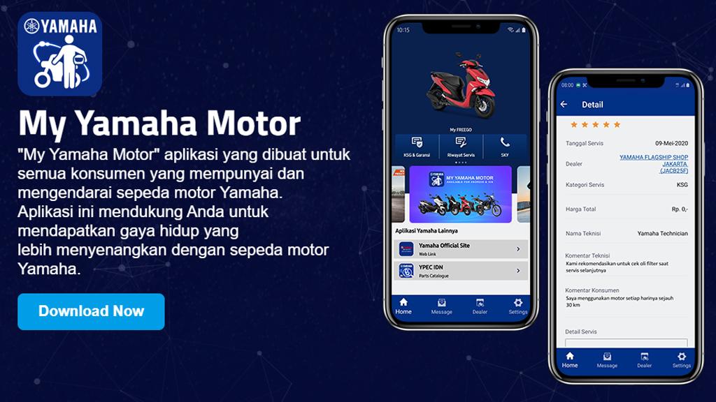 Aplikasi My Yamaha Motor Mudahkan Konsumen dalam Mendapatkan Layanan SKY