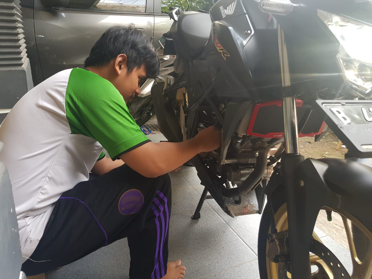 Perawatan Motor Saat Musim Hujan Bisa Dikerjakan Sendiri