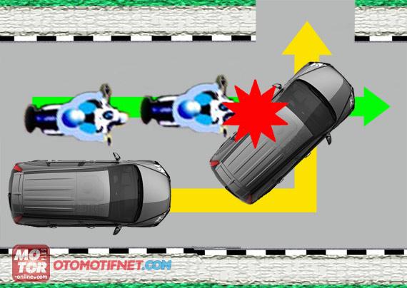 Saat Berkendara Perhatikan Zona Bahaya