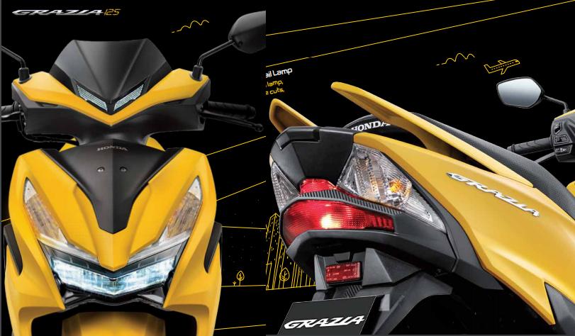 Honda Grazia Resmi Diperkenalkan