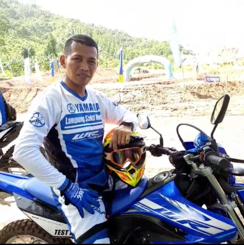 Warga Lampung Saksikan Mini Launching Yamaha WR 155R