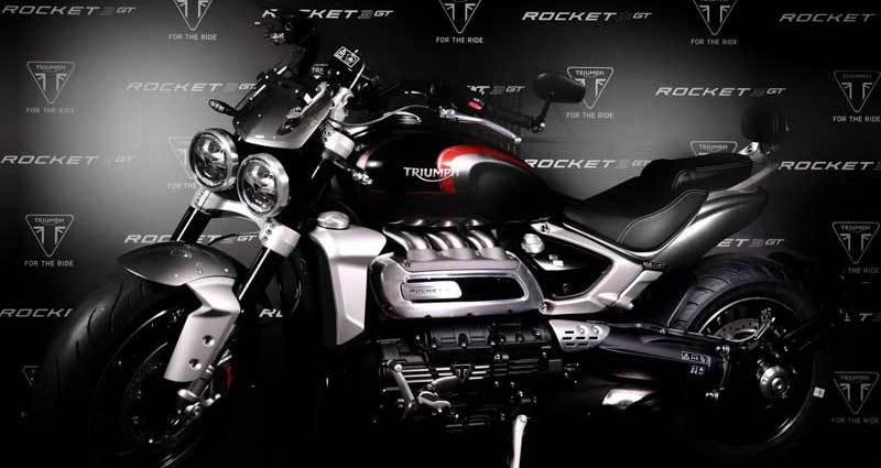 Triumph Rocket 3GT dan Rocket 3R Sudah Dijual di Indonesia