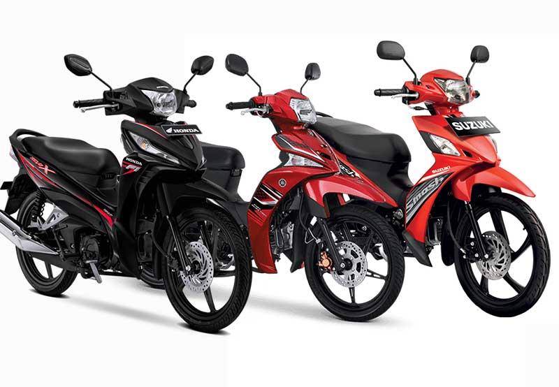 Daftar Harga Motor Bebek Terbaru juni 2020, Honda, Yamaha Dan Suzuki