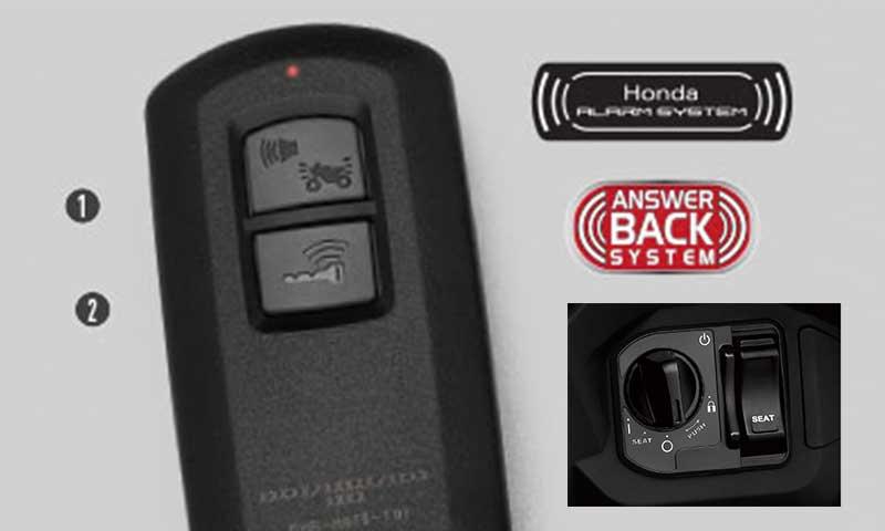 Cara menonaktifkan dan mengaktifkan alarm Honda All New Vario 150?
