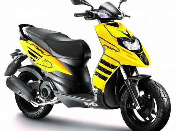 Motor Matic Aprilia Storm Harganya Setara Honda BeAT