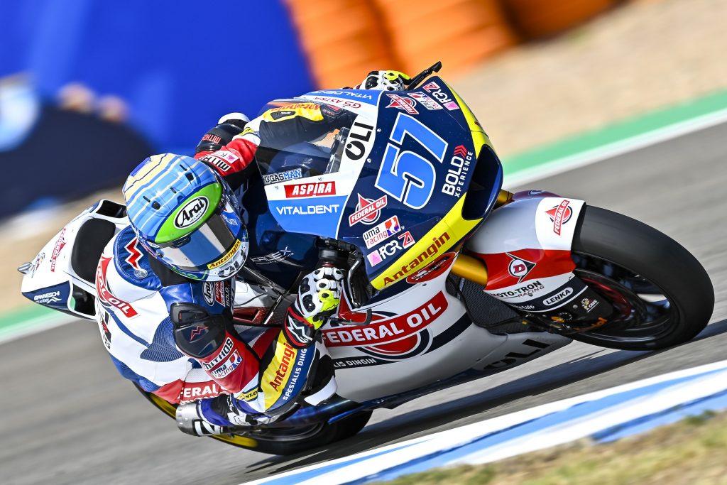 Nicolo Bulega Dan Edgar Pons Mulai Cari Peruntungan di Jerez