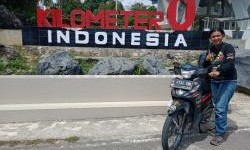 Lady Bikers Honda Revo Ini Sampai Ke Titik Nol Sabang