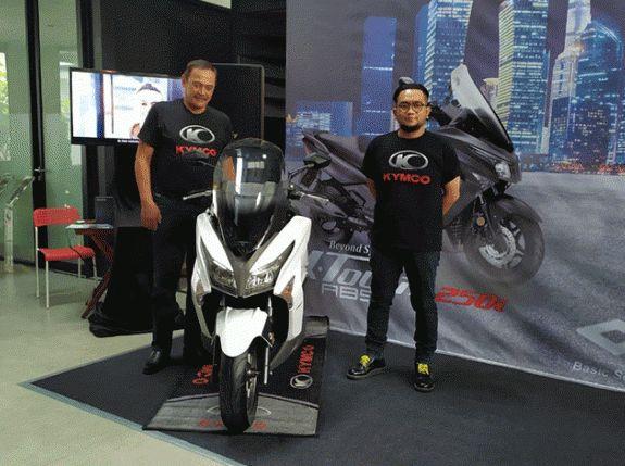 Kymco X-Town 2501 Saingan Terbaru Honda Forza Dan Yamaha X-Max