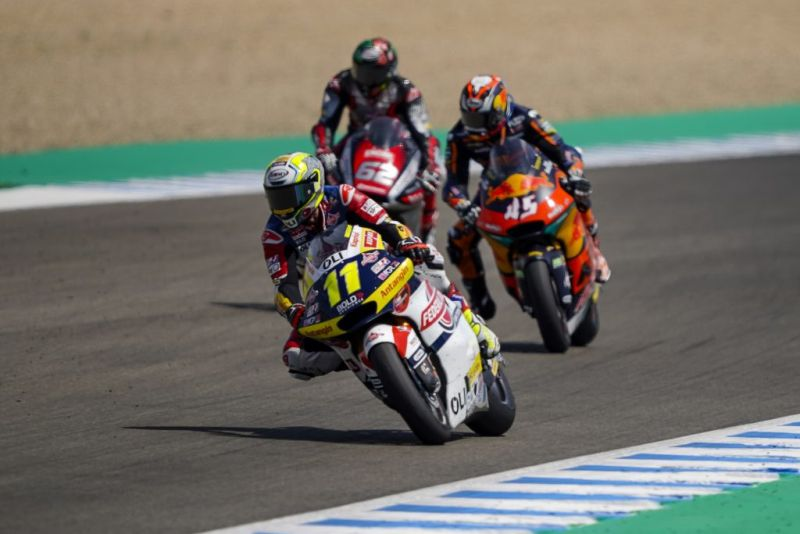 Lagi Pembalap Federal Oil Tambah Poin di Moto Andalusia Jerez 2020