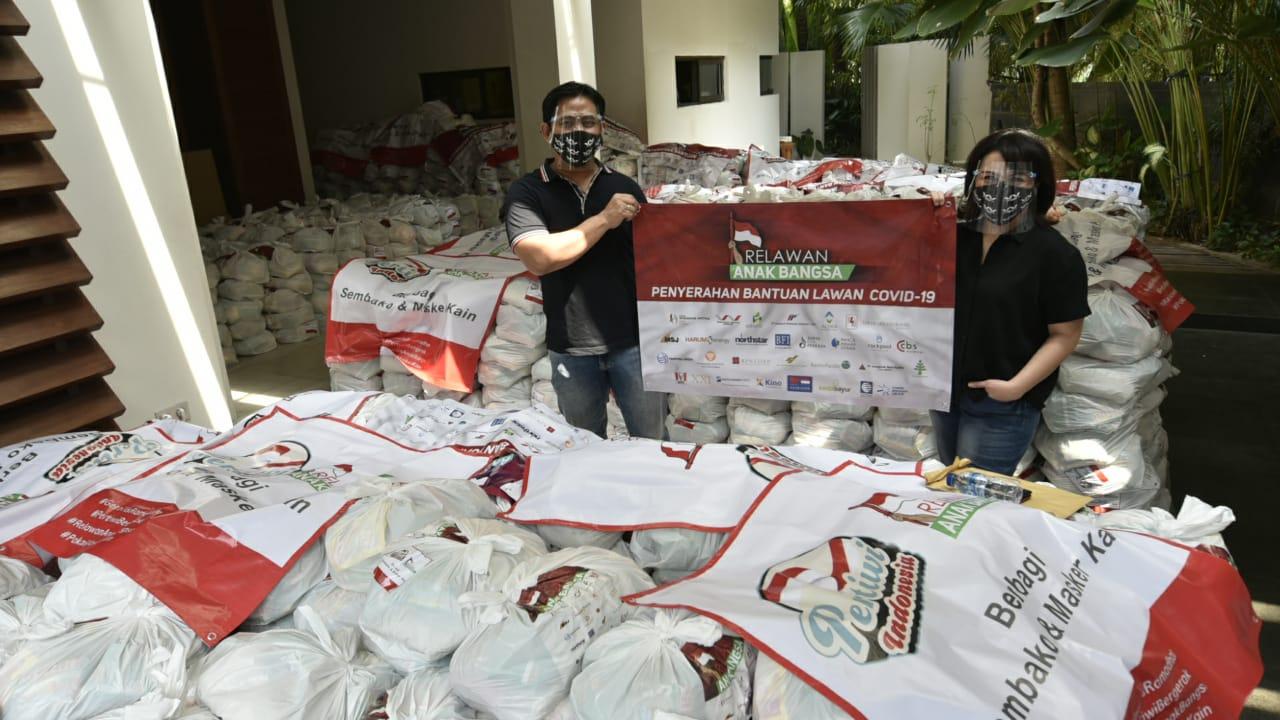 Belum Usai, Relawan Anak Bangsa Dukung Lagi Aksi Sosial Pertiwi Indonesia