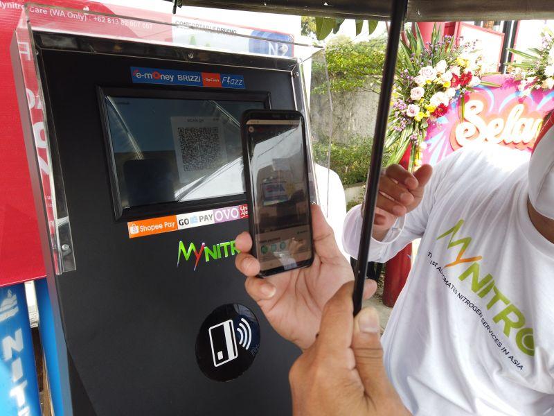 Isi Angin Nitrogen Kayak Di ATM