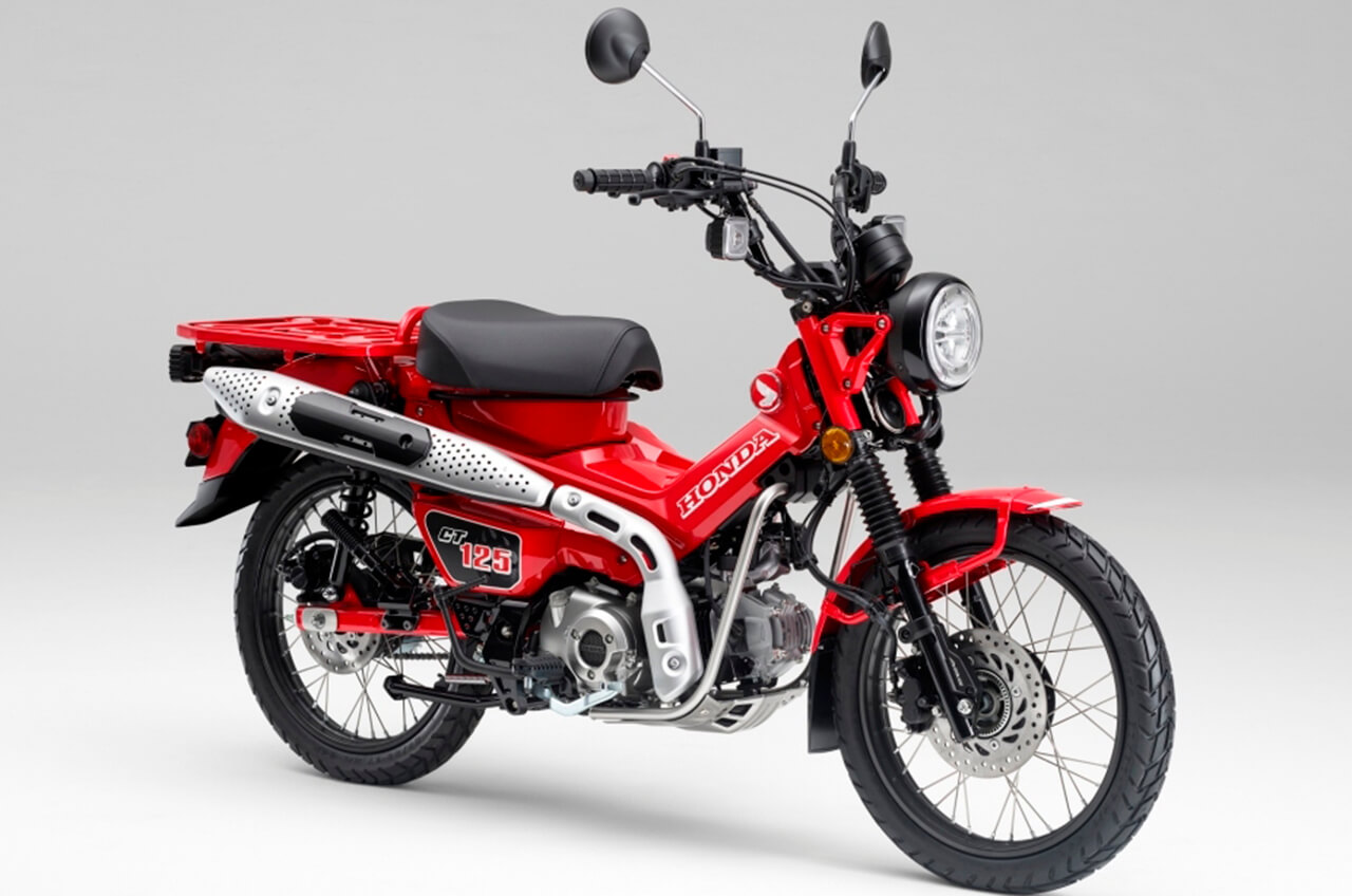 Motor Bebek Unik Ini Sudah dijual di Indonesia, Harganya Berapa Ya ?
