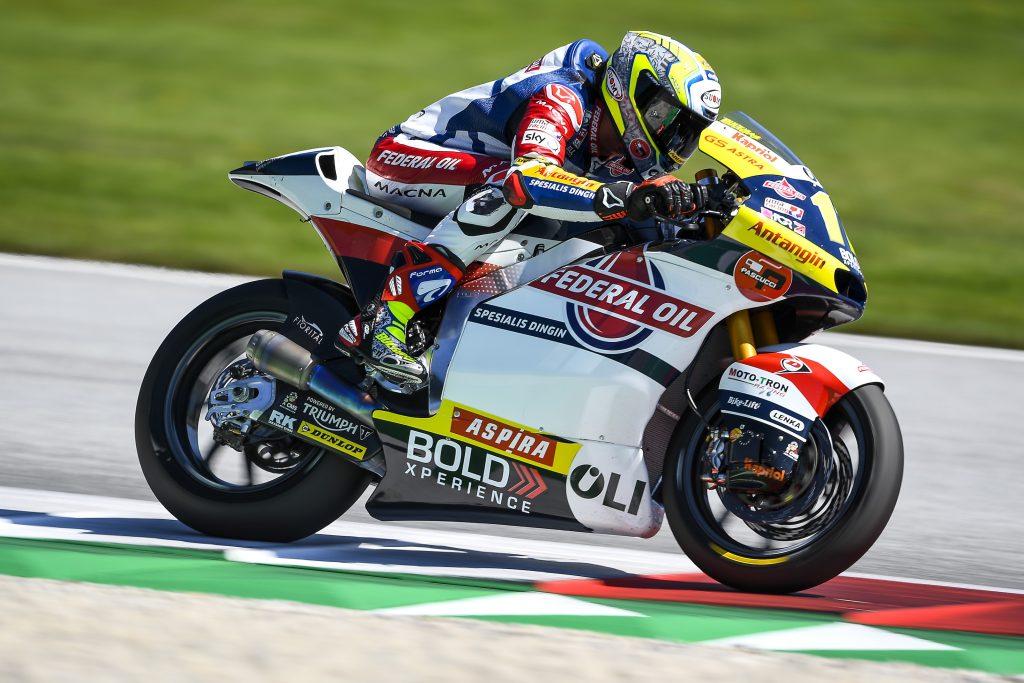 Bulega Akan Start Dari Baris ke 4, Edgar Pons Baris Ke 7 di Moto2 Spielberg 2020