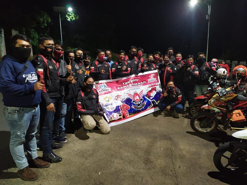 Peringati Kemerdekaan RI, Bikers GBMC Adakan Touring Kemerdekaan