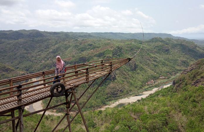 Wisata Jurang Tembelan Salah Satu Tempat Wisata Kekinian di Yogyakarta