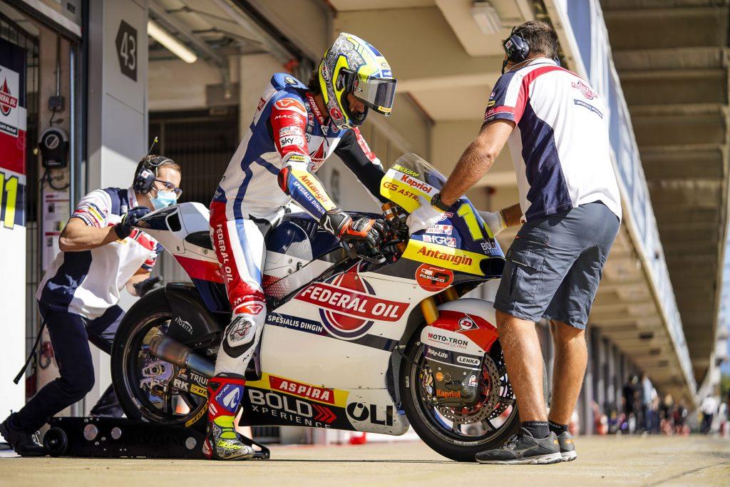 Pembalap Federal Oil Akan Start Dari Row 5 Dan 6 di Moto2 Catalunya