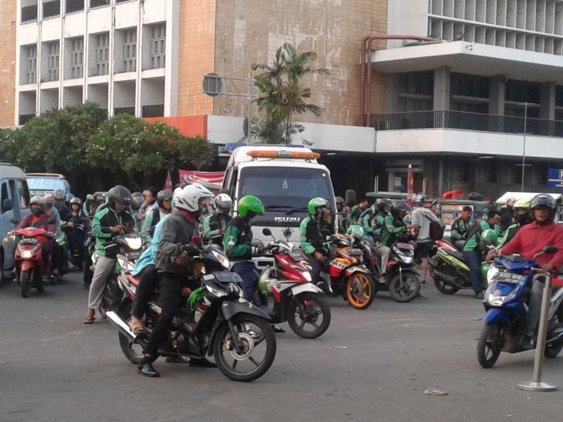 Kasus Covid Masih Tinggi, Jakarta Terapkan PSBB Secara Ketat Ojol Tidak Boleh Bawa Penumpang