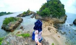 Pantai Tapak Kera , Pantai Indah Yang Tersembunyi di Pesisir Lampung