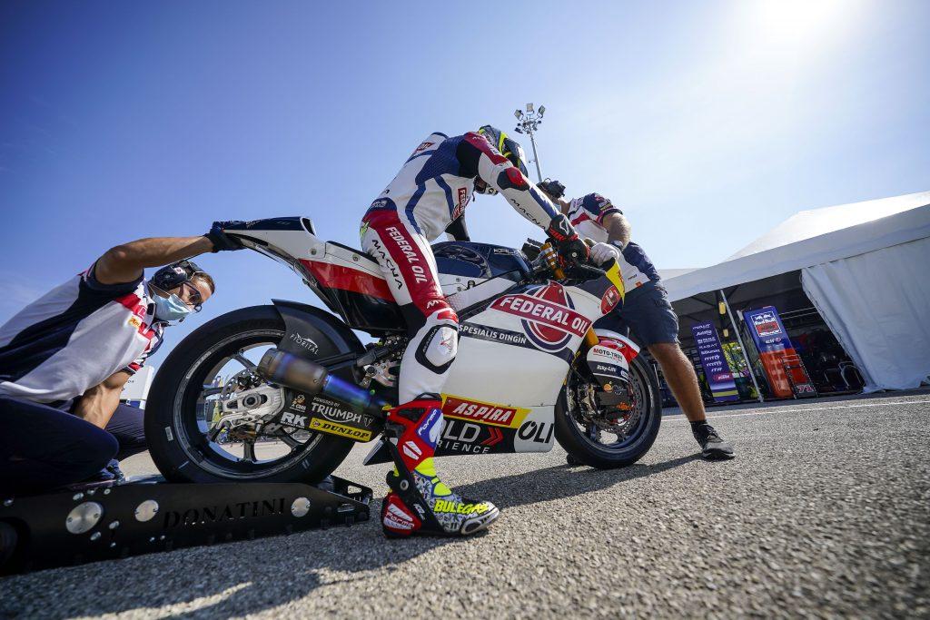 Pembalap federal Oil Tercepat ke 4 di FP2 Moto2 San Marino