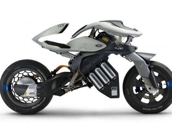 Inilah Motor Masa depan Meski Gak Pakai Penyangga, Motor Ini Tetap Berdiri Seimbang