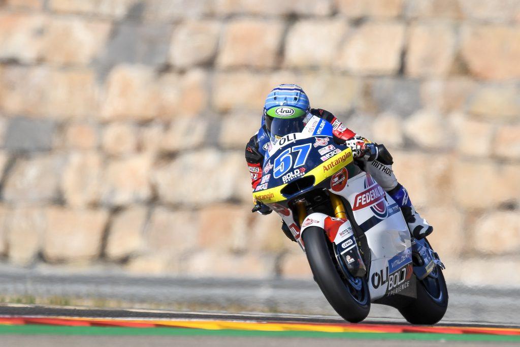 Hasil FP2 Moto2 Aragon 2020, Pembalap Federal Oil Tercepat Ke 4