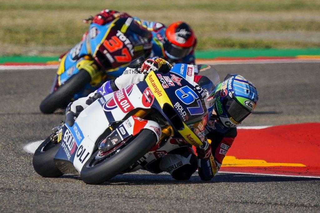 Pembalap Federal Oil Targetkan 10 Besar di Moto2 Aragon