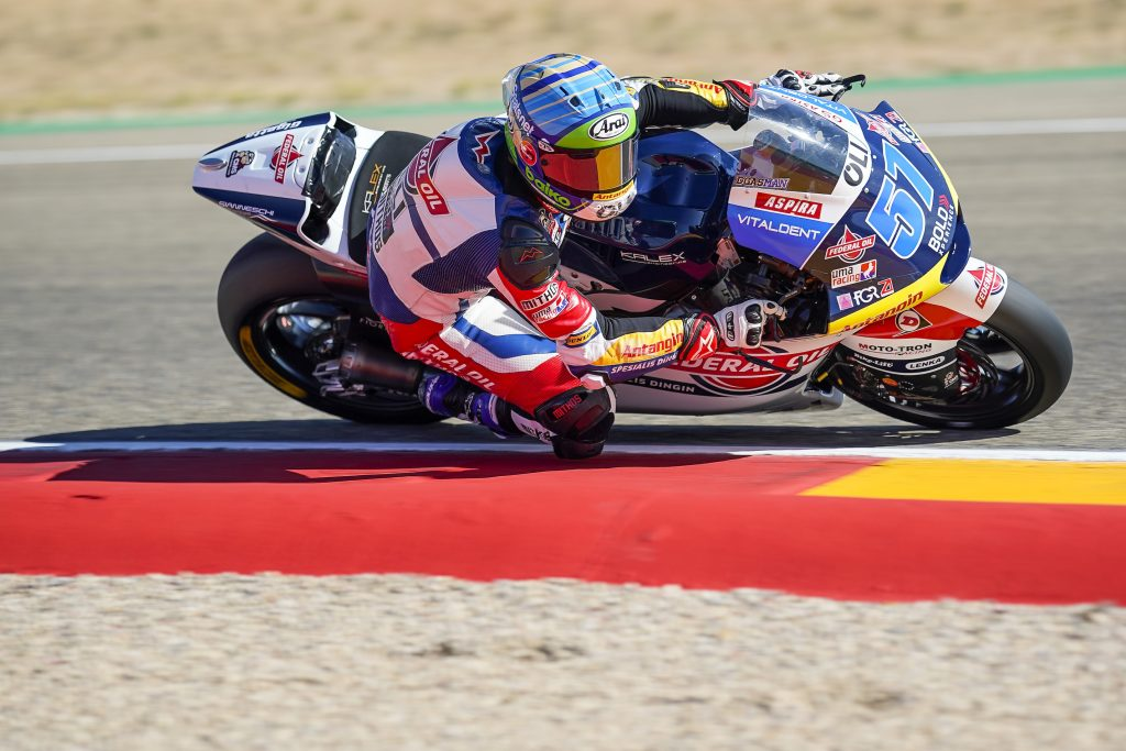 Pembalap Federal Oil Tambahkan Poin di Moto2 Aragon
