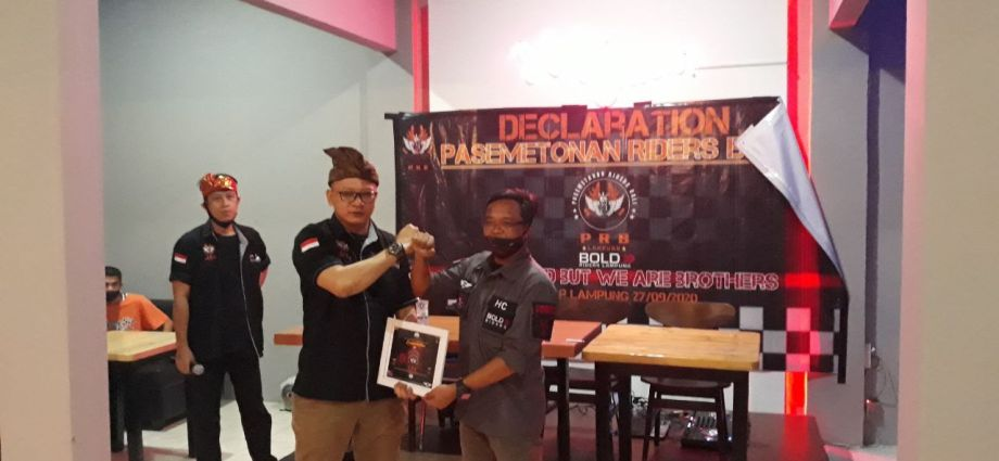 Pasemetonan Riders Bali Cahpter Lampung Resmi Terbentuk