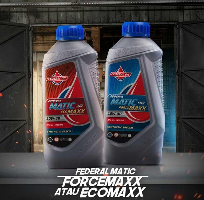 Meski Sama-Sama Untuk Oli Motor Matic, Ini Perbedaan Federal Ecomaxx dan Forcemaxx
