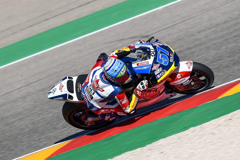 Keren Edgar Pons Tercepat Kedua di FP3 Moto2 Aragon 2020