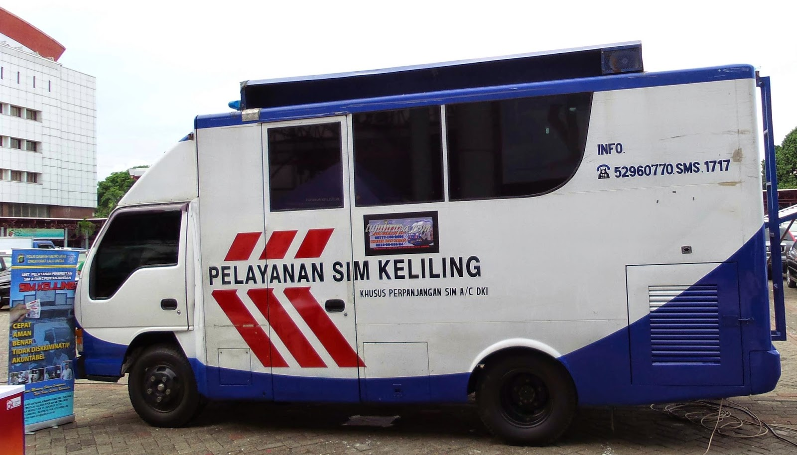 Ini 5 Tempat Pelayanan SIM Keliling di Jakarta
