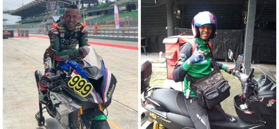 Wah Mantan Pembalap Moto2 Ini Alih Profesi Jadi Kurir Ojek Online