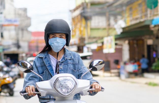 Bahaya Jika Memakai Helm Tanpa Visor