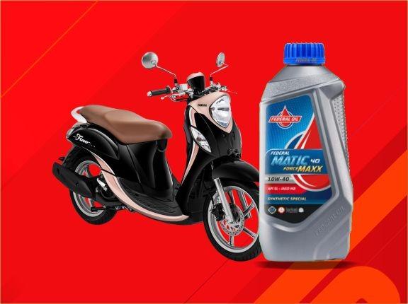 Oli Yang Disarankan  Untuk Motor Matic Yamaha Terbaru