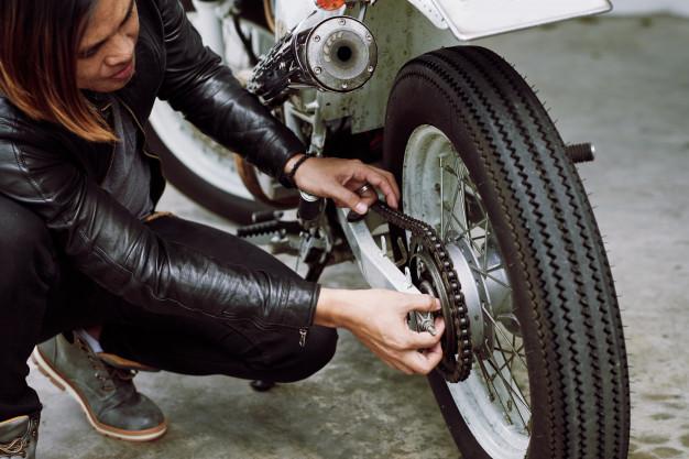 Solusi Dan Penyebab Rantai Sepeda Motor Melar