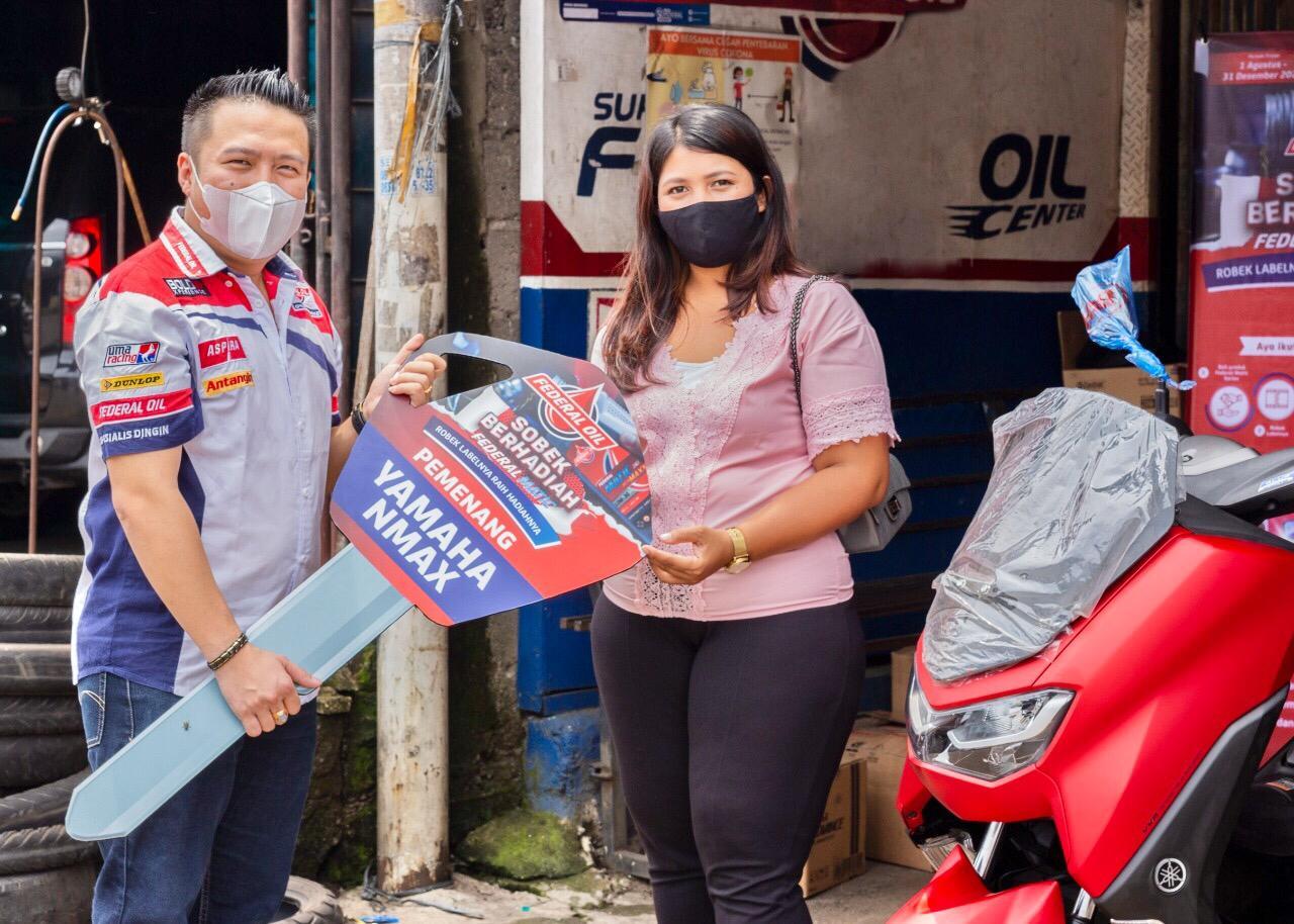 Program Berhadiah Federal Oil Bantu Tingkatkan Perekonomian Bengkel