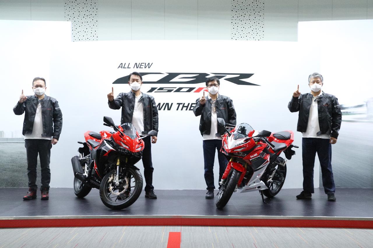 Motor Sport 150cc Ini Dilengkapi Fitur Canggih