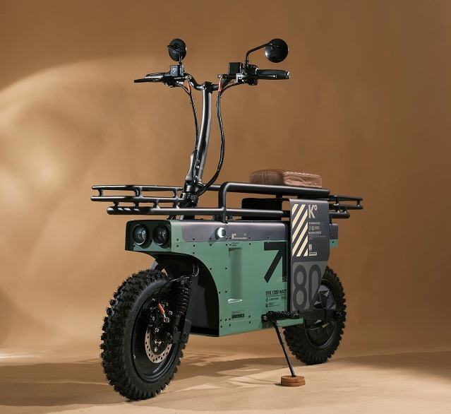 Seperti sepeda Lipat, Motor Listrik Ini Bisa Dilipat