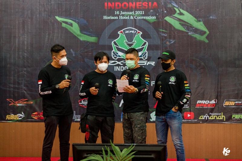 Pencinta Kawasaki ZX25R Indonesia Deklarasikan ZRI